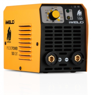 IWELD GORILLA POCKETPOWER 150 (140A) Hegesztő inverter